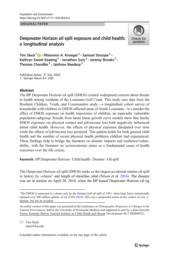 thumnail for Slack2020_Article_DeepwaterHorizonOilSpillExpo.pdf