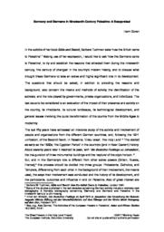 thumnail for Goren_Germany_and_germans.pdf