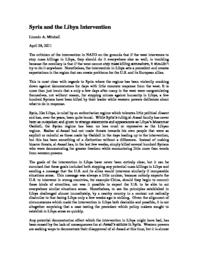 thumnail for Syria_and_the_Libya_Intervention.pdf
