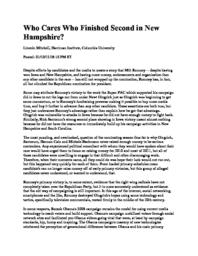 thumnail for Who_Cares_Who_Finished_Second_in_New_Hampshire.pdf