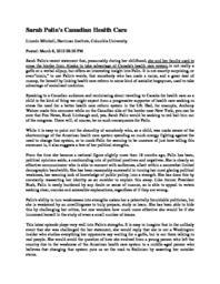 thumnail for Sarah_Palin_s_Canadian_Health_Care.pdf