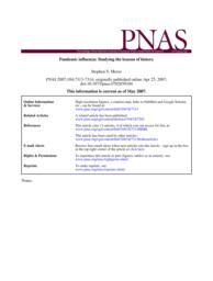 thumnail for Morse_-_Pandemic_Influenza.pdf