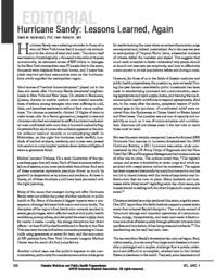 thumnail for Abramson_and_Redlener_Hurricane_Sandy_Lessons_Learned_Again_DMPHP_2012.pdf