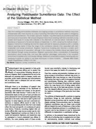 thumnail for AnalyzingPostdisasterSurveillanceData.pdf