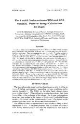 thumnail for Broyde_1975_AandBConformationsOfdGpdC_Biopolymers.pdf