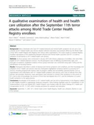 thumnail for Welch_2012_WTCQualStudy_BMCPH.pdf
