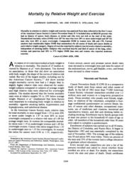 thumnail for Garfinkel_1988_WtExercise_CPS2_Cancer.pdf