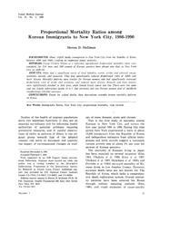 thumnail for Stellman_1996_Korean_Immigrants.pdf
