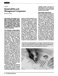 thumnail for World_Financial_Review_-_Sustainability_and__Management_Competence.pdf
