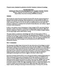 thumnail for Goertzen_Klahn_The_Buck_Stops_Here_Charleston_Conference_2014_AC.pdf