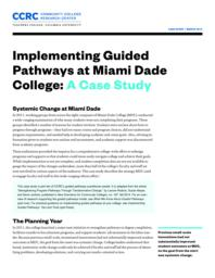 thumnail for Implementing-Guided-Pathways-Miami-Dade.pdf