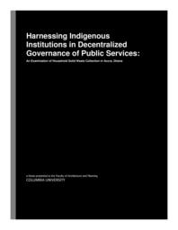 thumnail for ASedzro-GSAPP_Harnessing_the_Power_of_Indigenous_Institutions.pdf