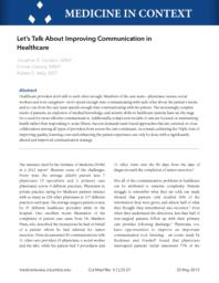thumnail for cmr_Improving_communication_in_healthcare.pdf