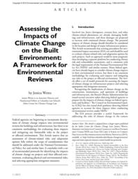 thumnail for Wentz_-_Assessing_Impacts_of_CC_on_the_Built_Envt_-_A_Framework_for_Envtl_Reviews.pdf