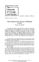 thumnail for The_Common_Law_Powers_of_Federal_Courts.pdf