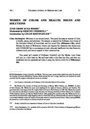 thumnail for CGJL-36.1-5-Women-of-Color-and-Health.pdf