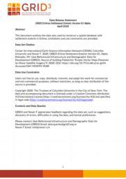 thumnail for Data Release Statement GRID3 ERI Settlement Extents V1 Alpha.pdf