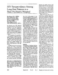 thumnail for HIV seroprevalence among long-stay patients in a state psychiatric hospital.pdf