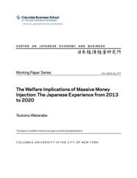 thumnail for WP 377.The Welfare Implications of Massive Money Injection.pdf
