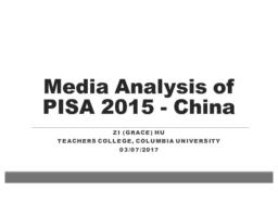 thumnail for Media Analysis of PISA 2015 Results - China.pdf