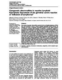 thumnail for Sevella D et al Hematol Oncol 2010.pdf