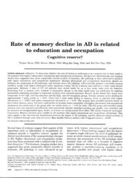 thumnail for Rate of memory decline in AD is realted to edu.pdf