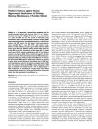 thumnail for Positive evidence against human hippocampal in.pdf