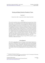 thumnail for Stark Testing Sociologica May 2020.pdf