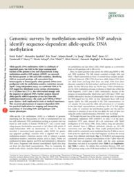 thumnail for Kerkel K et al Nat Genet 2008.pdf