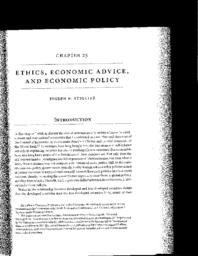 thumnail for Ethics, Economic Advice and Economic Policy_0.pdf