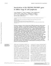 thumnail for Pasqualucci L et al J Exp Med 2006.pdf