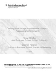 thumnail for Moving the Conceptual Framework Forward Accounting for Uncertainty.pdf