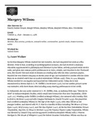 thumnail for Wilson,M_WFPP.pdf