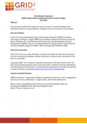 thumnail for Data Release Statement GRID3 GNB Settlement Extents V1 Alpha.pdf