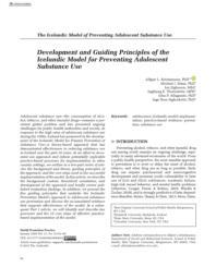 thumnail for Kristjansson et al. Development and Guiding Principles of the Icelandic Model - HPP 2020.pdf
