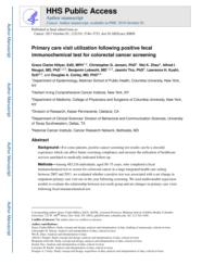 thumnail for Primary care visit utilization 2017.pdf