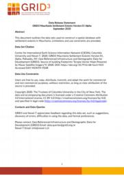 thumnail for Data Release Statement GRID3 MRT Settlement Extents V1 Alpha.pdf