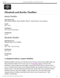 thumnail for Élisabeth and Berthe Thuillier – Women Film Pioneers Project.pdf