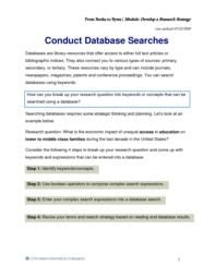 thumnail for Conduct Database Searches.pdf