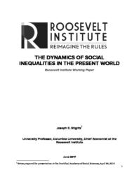 thumnail for The Dynamics of Social Inequalities in the Present World.pdf