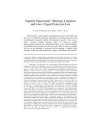 thumnail for equality_opportunity_-_marriage_litigation_and_iowas_equal_protection_law.pdf