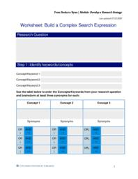 thumnail for Form Worksheet_ Build a Complex Search Expression.pdf
