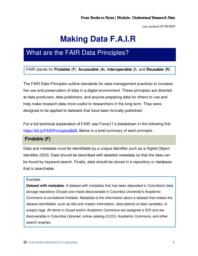 thumnail for Making Data F.A.I.R.pdf