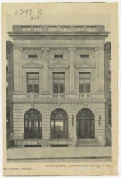 222 East 79th Street. James Brown Lord, Chas. Volz, Architect