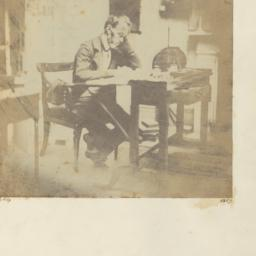 Thomas Carlyle, Seated at W...
