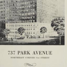 737 Park Avenue, Typical Fl...