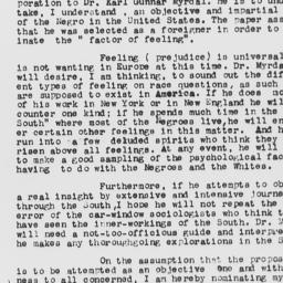 Letter from David Spence Hi...