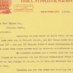 Montgomery & Co. letter