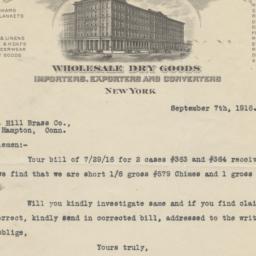 H.B. Claflin Corporation. L...