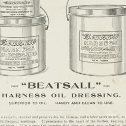 """Beatsall"" harness oil dres..."